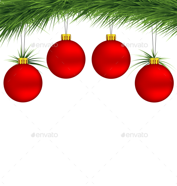 GraphicRiver Christmas Balls 9586177