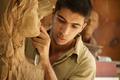 Sculptor young artist artisan working sculpting sculpture - PhotoDune Item for Sale
