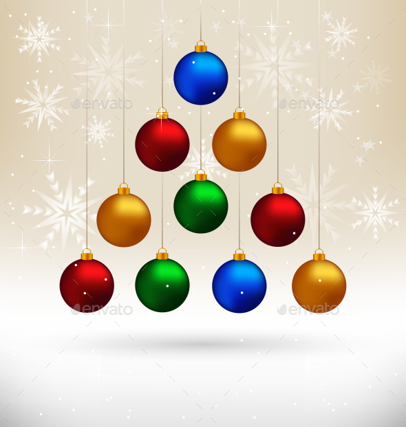 GraphicRiver Christmas Balls 9586334
