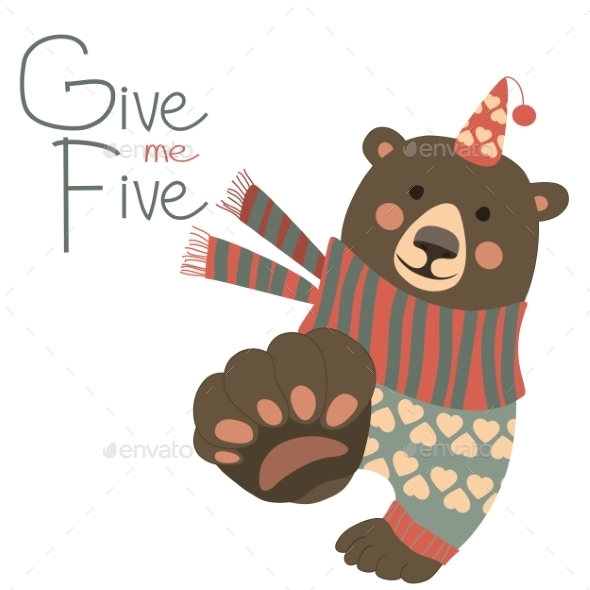 GraphicRiver Give Me Five 9586356