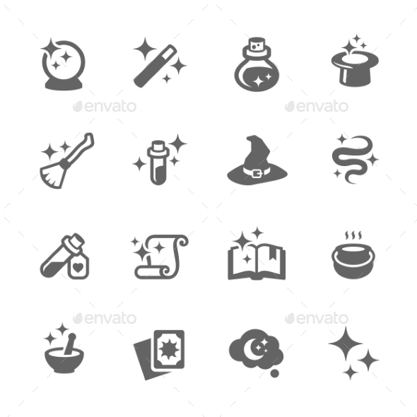 GraphicRiver Magic Icons 9586827