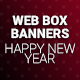 Web Box Banners - Happy New Year - GraphicRiver Item for Sale