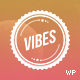 Vibes - Colorful Compact Portfolio (WordPress) - ThemeForest Item for Sale