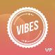 Vibes - Colorful Compact Portfolio (WordPress) - ThemeForest Item for Sale