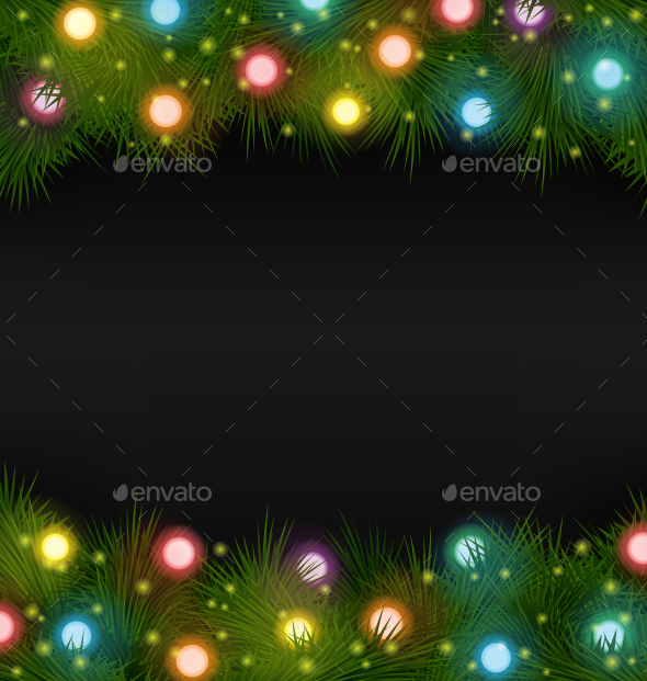 GraphicRiver Christmas Lights 9587523