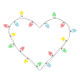 Christmas Lights Heart - GraphicRiver Item for Sale