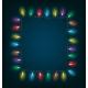 Christmas Lights Garland - GraphicRiver Item for Sale