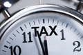 Alarmclock Showing Arrival Of Tax Time - PhotoDune Item for Sale