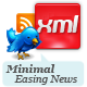 Minimal XML Easing News - ActiveDen Item for Sale