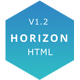 Horizon - One Page HTML5 Template - ThemeForest Item for Sale