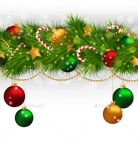 GraphicRiver Christmas Background 9588179