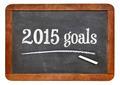 2015 goals on blackboard - PhotoDune Item for Sale