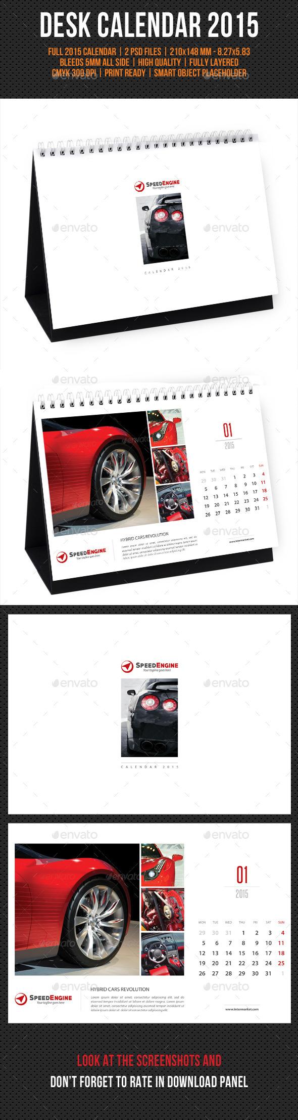 GraphicRiver Creative Desk Calendar 2015 V02 9588247