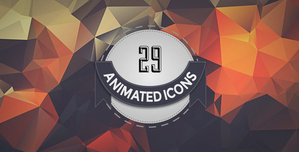 29 Social Networks Animated Icons