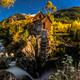 Crystal Mill Bright Starry Night Gunnison Colorado - PhotoDune Item for Sale