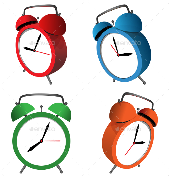 GraphicRiver Alarm Clocks 9588354