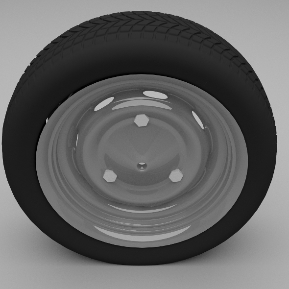 3DOcean Dacia wheel 9588358