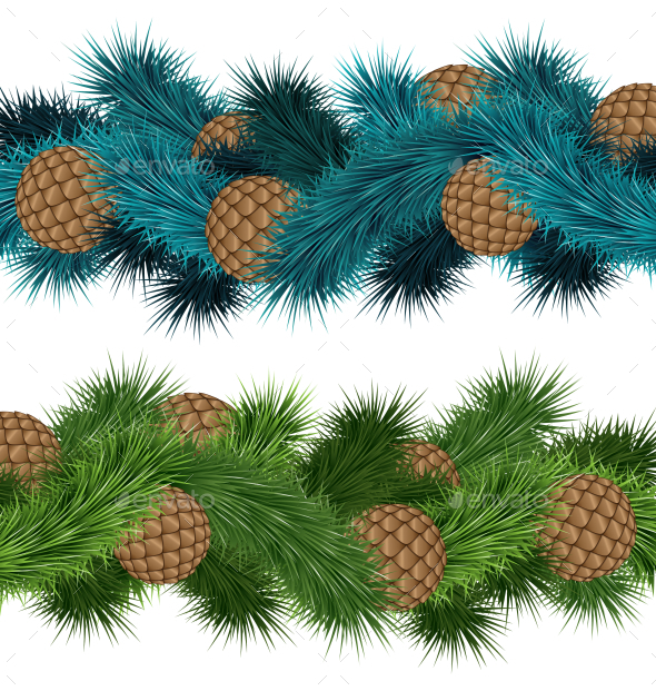 GraphicRiver Pine Cones 9588388