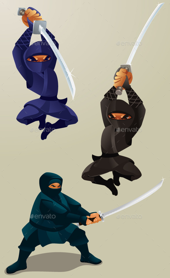 GraphicRiver Attacking Ninja 9588426