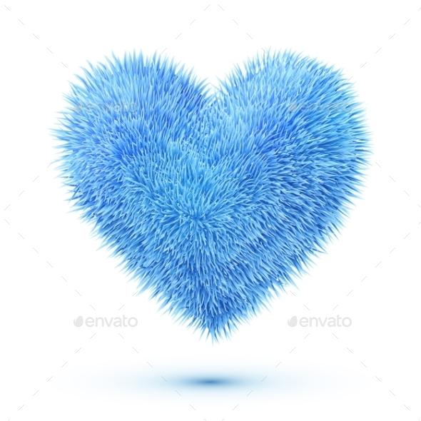GraphicRiver Fluffy Heart 9588475