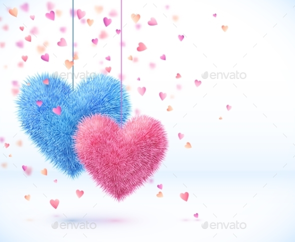 GraphicRiver Valentines Background 9588490