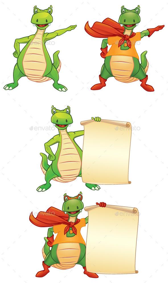 GraphicRiver Super Dino 9588493