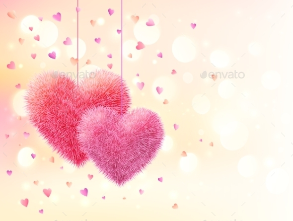 GraphicRiver Valentine Background 9588496