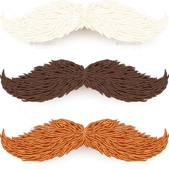 GraphicRiver Mustaches 9588568
