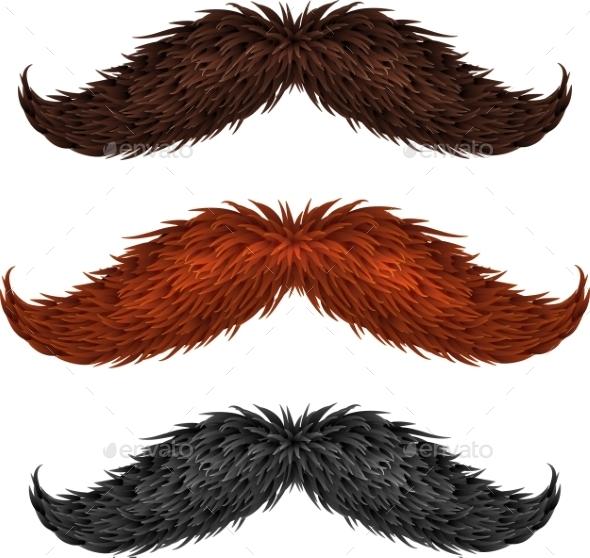 GraphicRiver Mustaches 9588611