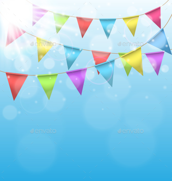 GraphicRiver Birthday Background 9588717