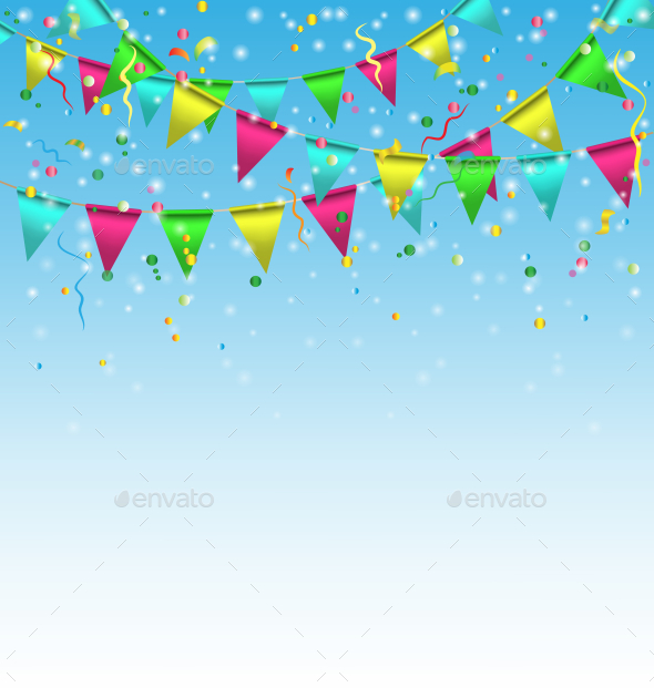 GraphicRiver Birthday Background 9588738