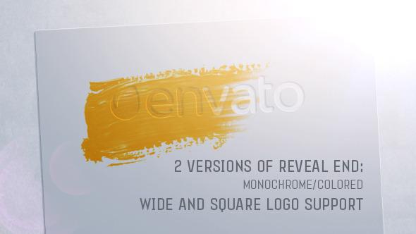 Stencil Logo Reveal (Logo Stings)