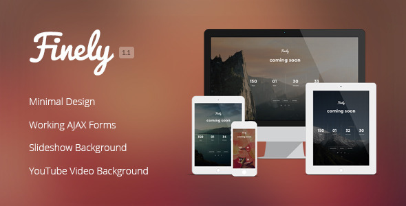 Finely - Responsive Under Construction Template - Under Construction Specialty Pages
