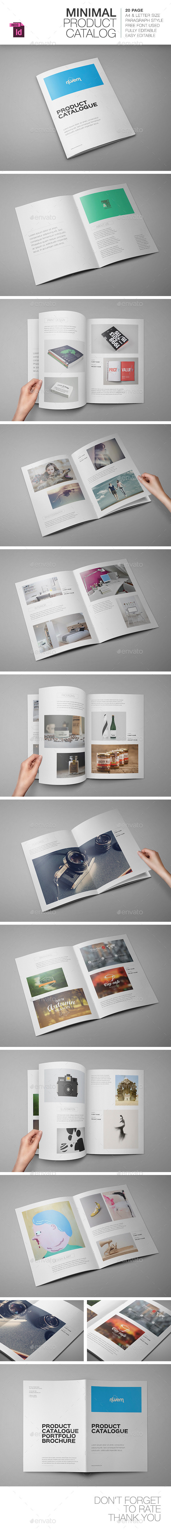 GraphicRiver Product Catalogue Portfolio Brochure 9589062