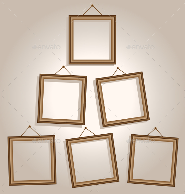 GraphicRiver Wooden Frames 9589065