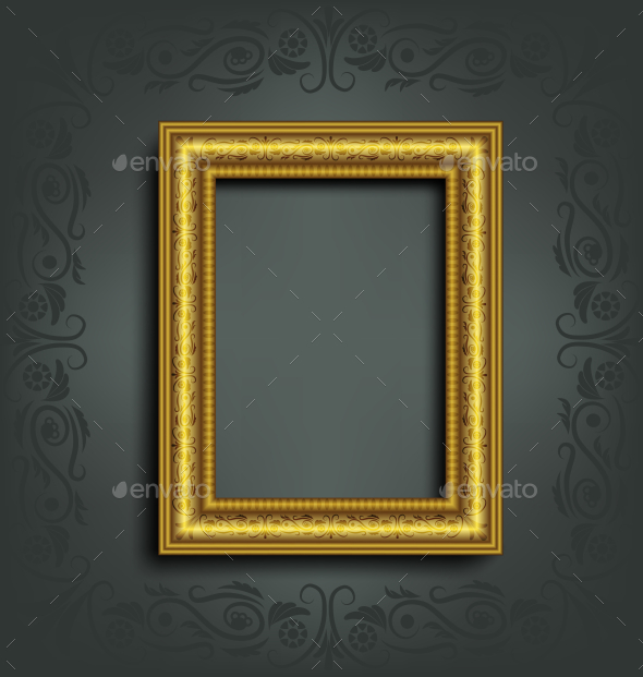 GraphicRiver Ornamented Frame 9589092