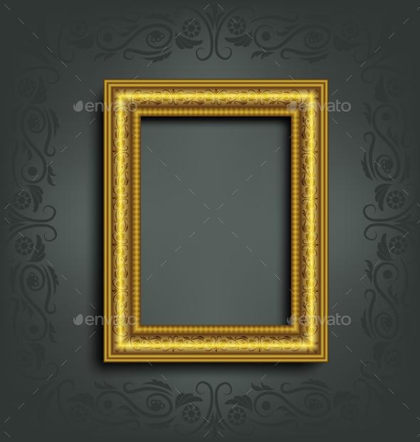 GraphicRiver Ornamented Frame 9589092