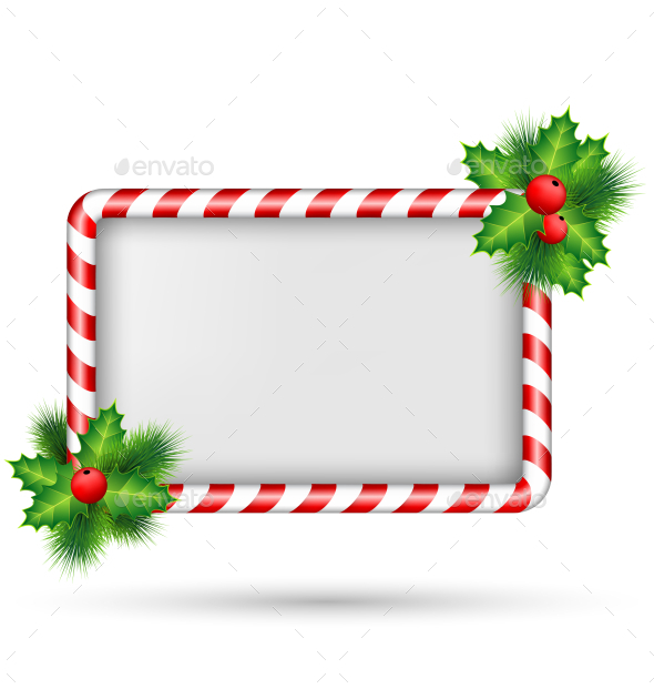 GraphicRiver Christmas Frame 9589129