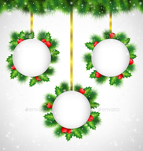 GraphicRiver Christmas Banners 9589188