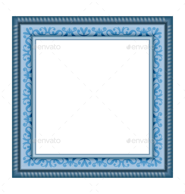 GraphicRiver Ornamented Frame 9589221