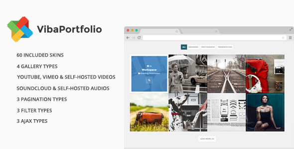 CodeCanyon Viba Portfolio WordPress Plugin 9561599