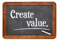 create value on blackboard - PhotoDune Item for Sale