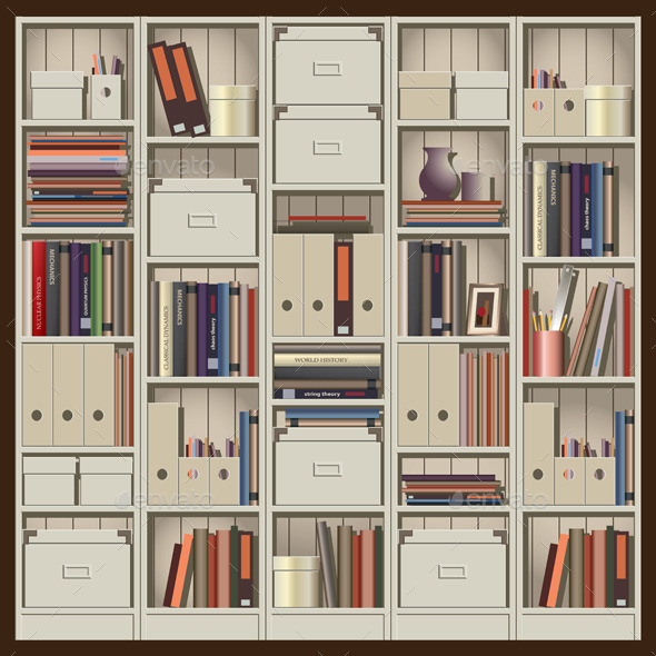 GraphicRiver Shelving 9589312
