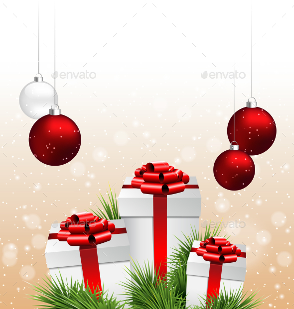 GraphicRiver Christmas Background 9589319