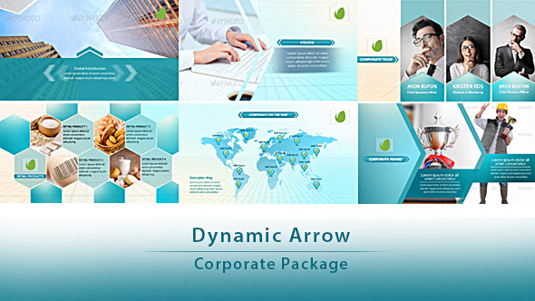Dynamic Arrow Corporate Package