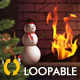 Fireplace - II - Winter Holidays - VideoHive Item for Sale