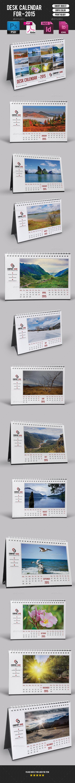 GraphicRiver Desk Calendar-V07 9589578