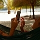 Using Smartphone in Hammock - VideoHive Item for Sale
