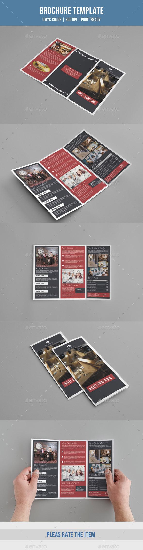 GraphicRiver Trifold Hotel Brochure-v190 9589733