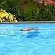 Girl Relaxing in Private Pool - VideoHive Item for Sale